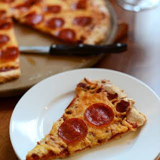 The Best Gluten Free Pizza Crust + Sauce.