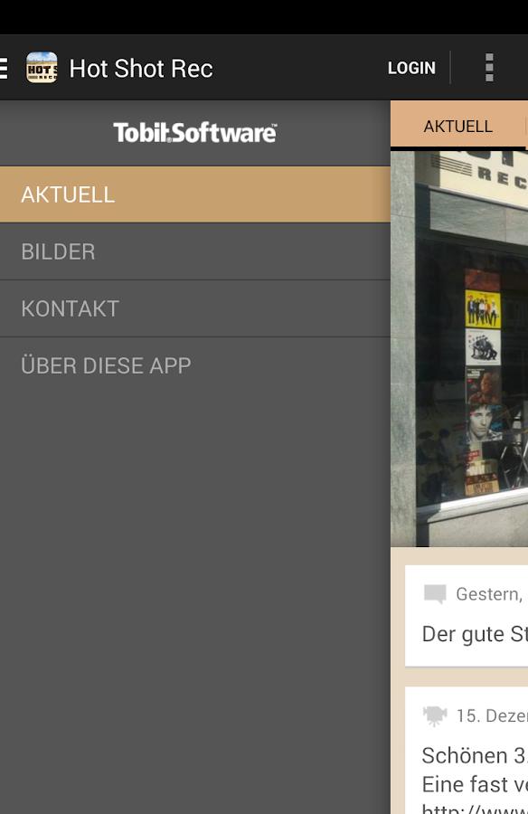 Hot Shot Records - screenshot