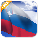 3D Slovenia Flag LWP icon