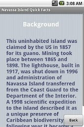 Navassa Island Quick Facts