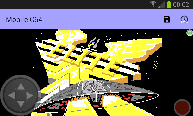 Mobile C64- screenshot