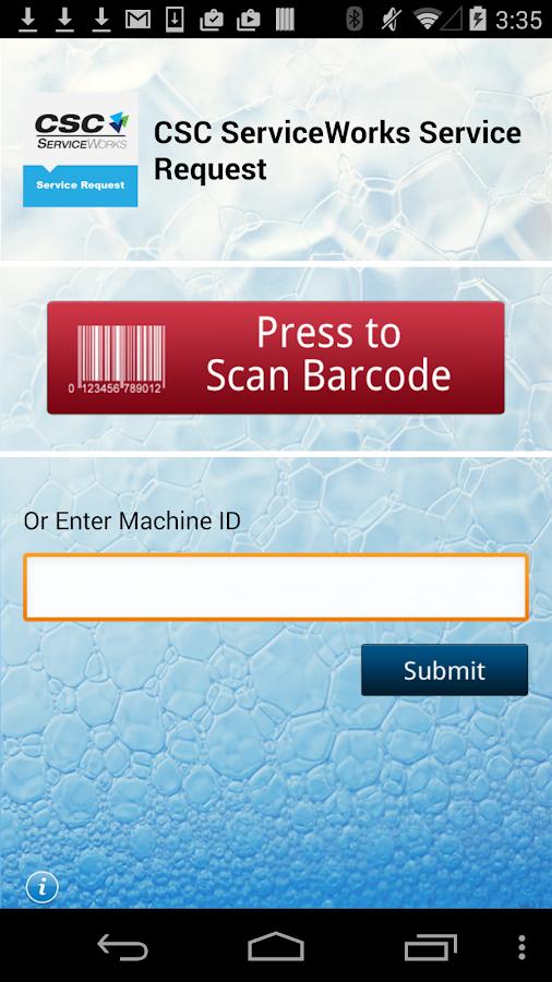 CSC ServiceWorksServiceRequest - screenshot