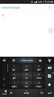 Indonesian Lang - GO Keyboard - náhled