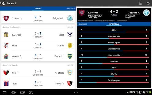 Liga Argentina de Fútbol Screenshot 15
