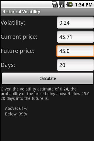 Volatility Tools - screenshot