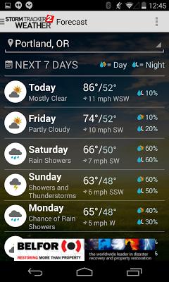 KATU Weather - screenshot