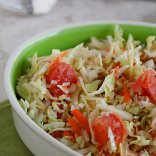 Spicy Grapefruit Coleslaw