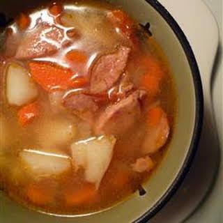 Polish Sausage Soup.