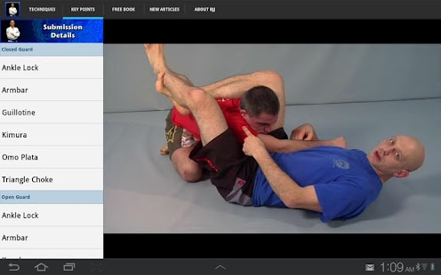 Submissions for BJJ & MMA- screenshot thumbnail