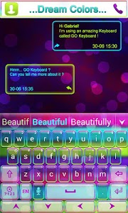 Dream Colors Go Keyboard Theme v1.65.18.57