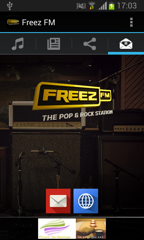 Freez FM - screenshot