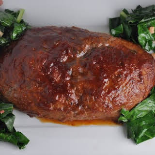 Meatloaf with Homemade Barbecue Sauce.