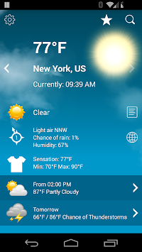 Weather XL PRO APK screenshot thumbnail 1