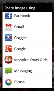 Keyspice Xmas Girls - screenshot thumbnail