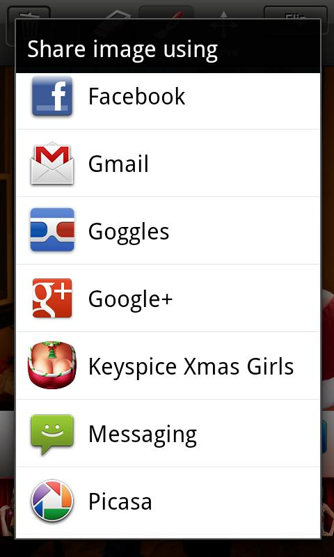 Keyspice Xmas Girls - screenshot