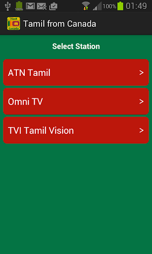 Tamil from Canada