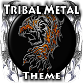 Tribal Metal Go Launcher Theme
