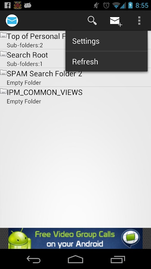 PST Reader - screenshot