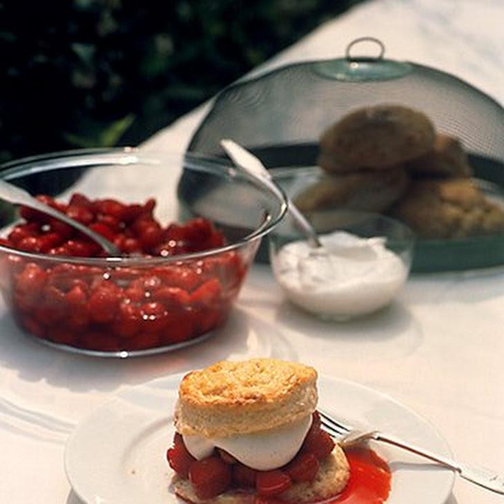 Strawberry Shortcake with Vanilla Whipped Cream Recipe