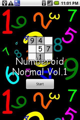 Numberoid Normal Vol.1- スクリーンショット