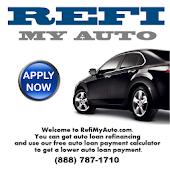 Refi My Auto | Auto Loan App