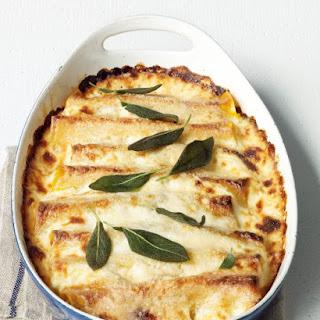 Squash, Sage, and Ricotta Cannelloni Recipe