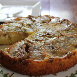 Upside-Down Apple Cake with Walnut and Sage Recipe