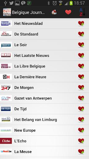 Belgique Journaux et Nouvelles