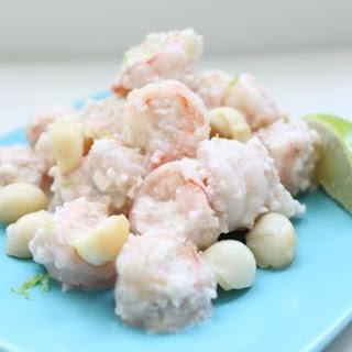 Creamy Macadamia Shrimp