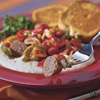 Italian Sausage With Tomato-Pepper Relish