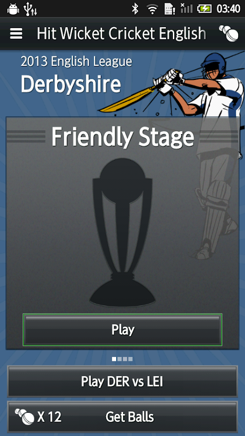 HWC English County Cricket - screenshot