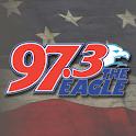 97.3 The Eagle icon