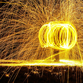 by Steve Evans - Abstract Fire & Fireworks
