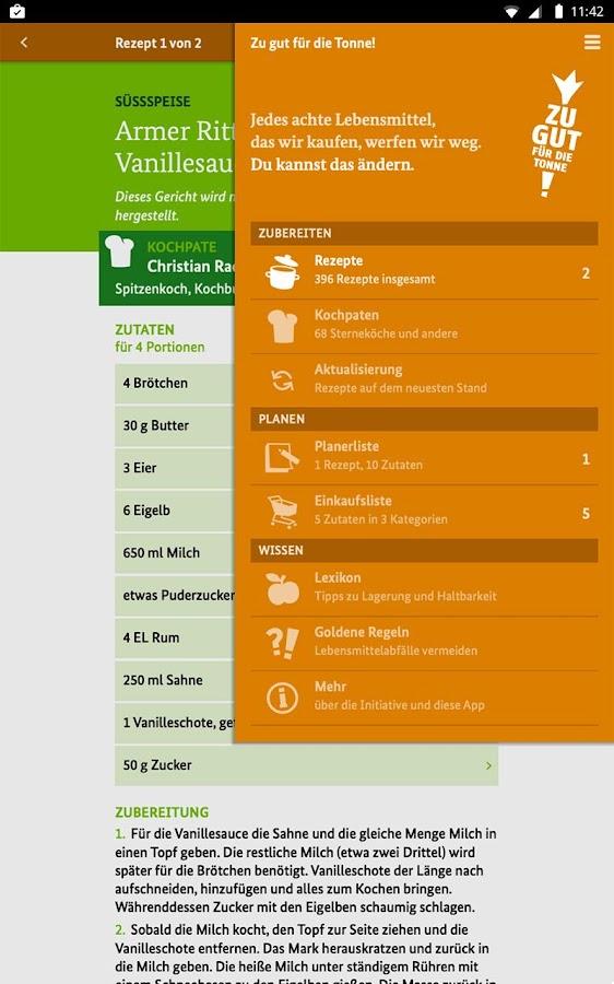 Zu gut für die Tonne!- screenshot