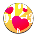 Heart Love Clock Widget icon