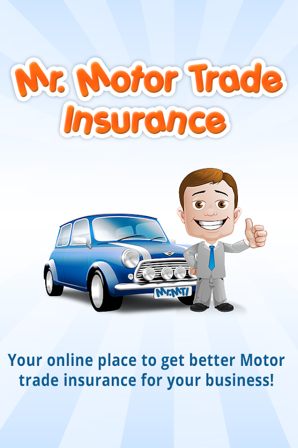 Mr Motor Trade Insurance UK- screenshot
