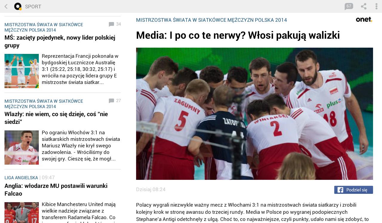 Onet News - wiadomości - screenshot
