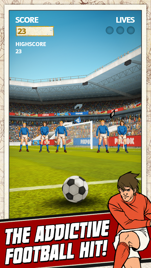 Flick Kick Football - screenshot
