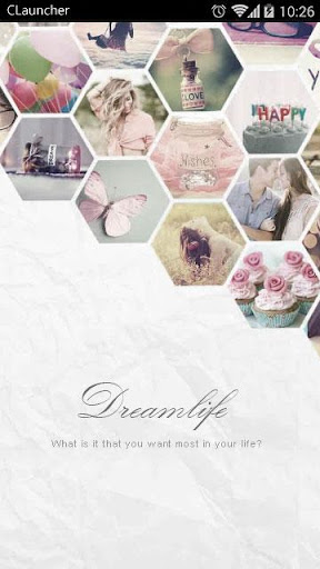 【免費個人化App】Dream Life C Launcher Theme-APP點子
