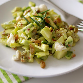 Shades of Green Chopped Salad Recipe