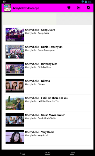 Cherrybelle Videos Apps