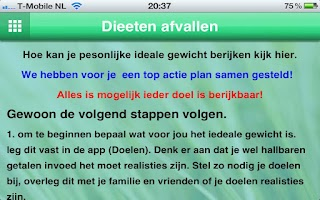 Screenshot of Dieet Dieeten afvallen Super D