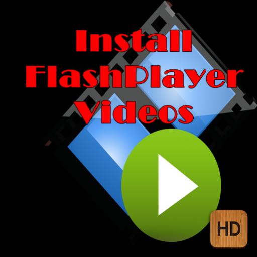 Install flash player videos