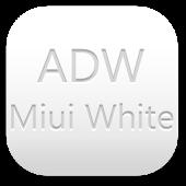 ADW Theme Miui White