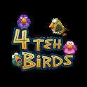 4 teh birds logo