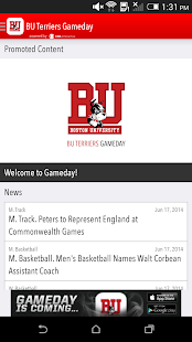 BU Terriers Gameday LIVE - screenshot thumbnail