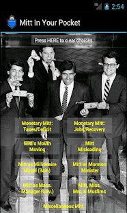 Mitt (Romney) in Your Pocket - screenshot thumbnail
