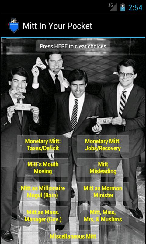 Mitt (Romney) in Your Pocket- screenshot
