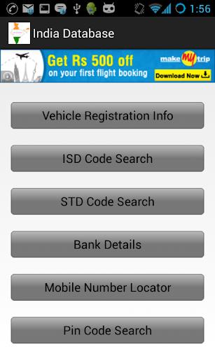 STD ISD IFSC MICR RTO Pincode
