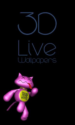 Running Cat 3D Live Wallpapers